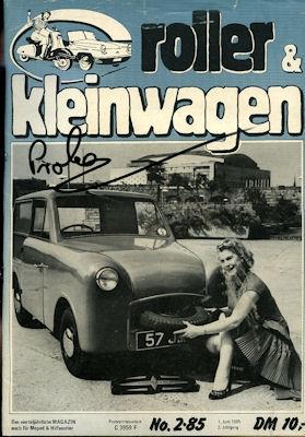 Roller & Kleinwagen 1985 Heft 2