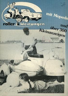 Roller & Kleinwagen 1984 Heft 1
