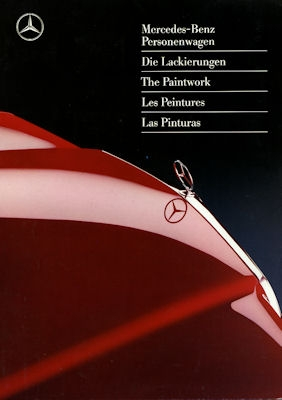 Mercedes-Benz Farben 9.1990