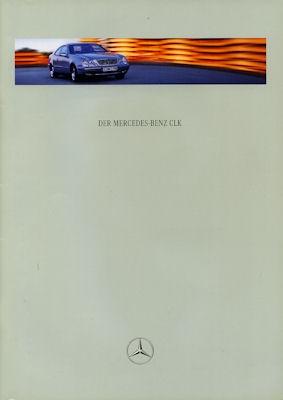 Mercedes-Benz CLK Coupé Prospekt 4.1998