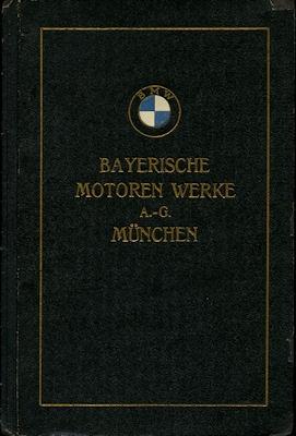 BMW Motor M4A1 Bedienungsanleitung + Ersatzteilliste 1921