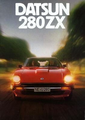 Datsun 280 ZX Prospekt 1979