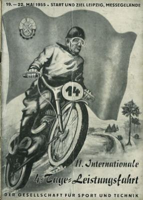 Programm II. Int. 4.Tage Fahrt Leipzig 19.-22.5.1955
