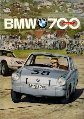 BMW 700 Sport Prospekt 2.1961