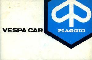 Vespa Car Bedienungsanleitung 1977