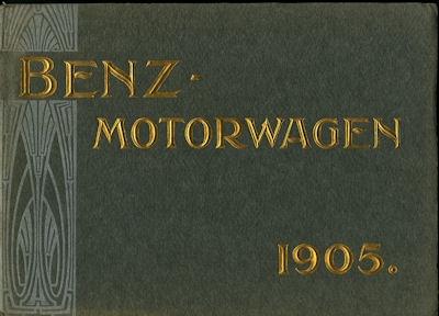 Benz Automobil Programm 1905