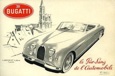 Bugatti Typ 101 Prospekt 1957