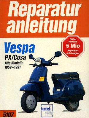 Vespa Reparaturanleitung 1959-1991 0