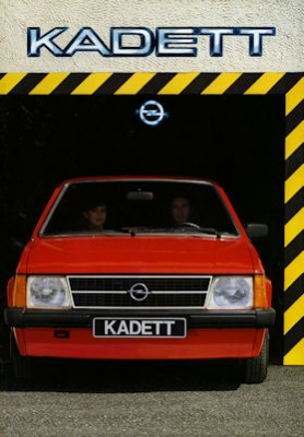 Opel Kadett D Prospekt 1984