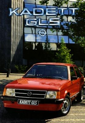 Opel Kadett D GLS Prospekt 1984