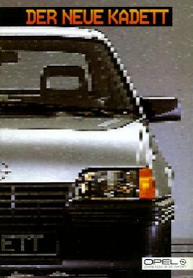 Opel Kadett E Prospekt 1985