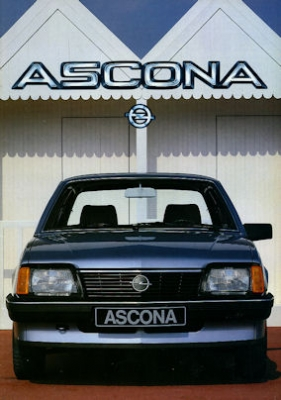 Opel Ascona Prospekt 1984