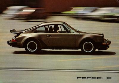 Porsche 911 E S Turbo Carrera Prospekt 1976 e