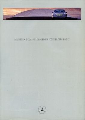 Mercedes-Benz E-Klasse Prospekt 1995
