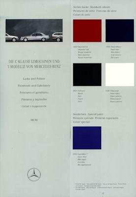 Mercedes-Benz C-Klasse Farben 1997