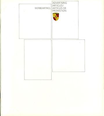 Porsche Werbeartikel Prospekt 1984