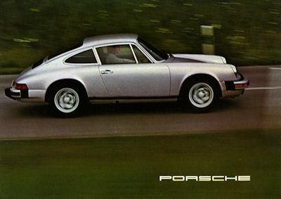 Porsche 911 S Carrera Prospekt 1975 e