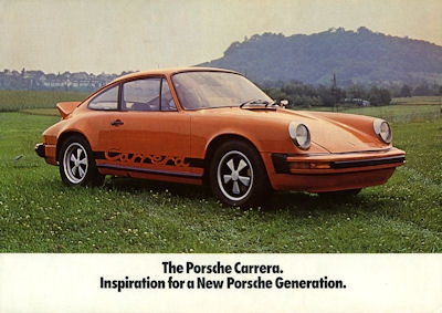 Porsche 911 S Carrera Prospekt 1974 e