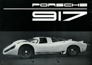 Porsche 917 Prospekt 3.1969
