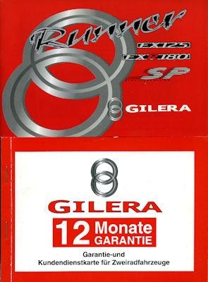 Gilera Runner Roller Bedienungsanleitung 1999
