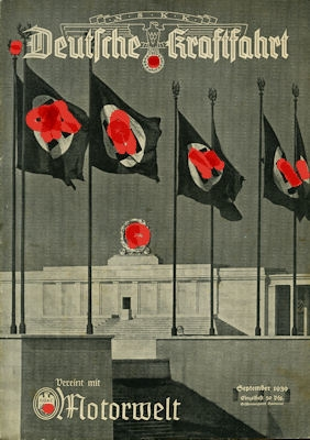 Deutsche Kraftfahrt 1939 September