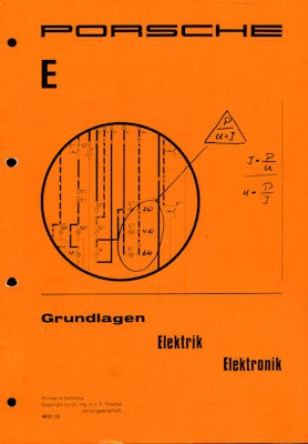 Porsche 911 Grundlagen Elektrik Elektronik 1974