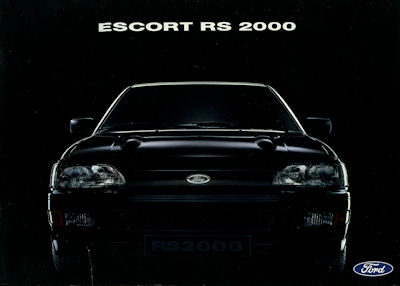 Ford Escort RS 2000 Prospekt 1992