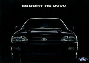 Ford Escort RS 2000 Prospekt 1992