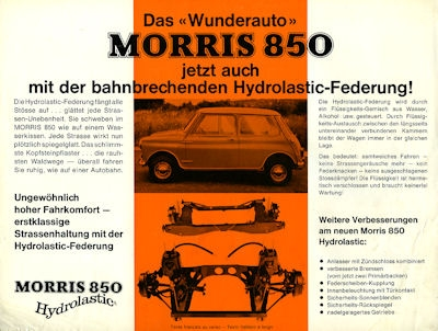 Morris (Mini) 850 Prospekt 1965