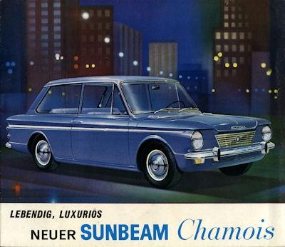 Sunbeam Chamois Prospekt 1960er Jahre