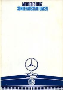 Mercedes-Benz Sonderausstattung Prospekt 6.1968