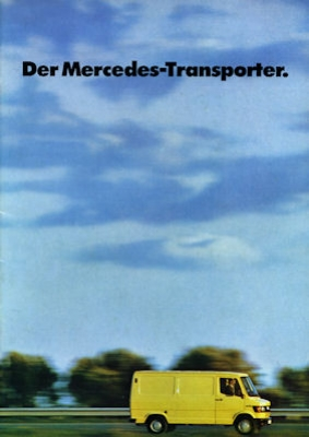 Mercedes-Benz Transporter Prospekt 1977