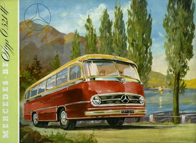 Mercedes-Benz O 321 H Prospekt 1955