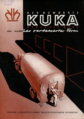 Mercedes-Benz KUKA Prospekt ca. 1951