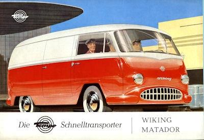 Tempo Viking Matador Prospekt 1956