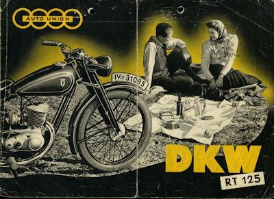 DKW RT 125 Prospekt 1940