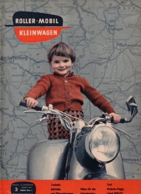 Rollerei und Mobil / Roller Mobil Kleinwagen 1957 Heft 3
