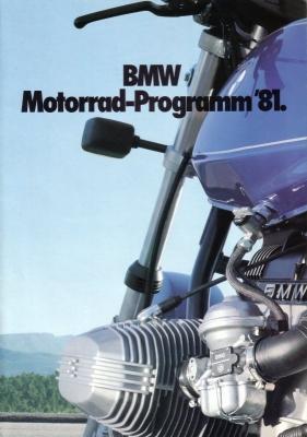 BMW Programm 1981