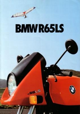 BMW R 65 LS Prospekt 1982
