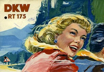 DKW RT 175 Prospekt 3.1954