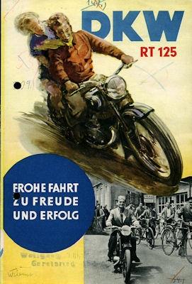 DKW RT 125 Prospekt 4.1952