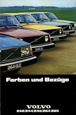 Volvo 242 244 245 264 265 Farben 1977