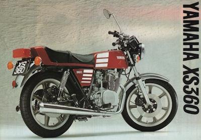 Yamaha XS 360 Prospekt 1977