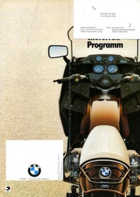 BMW Preisliste und Farben 9.1978