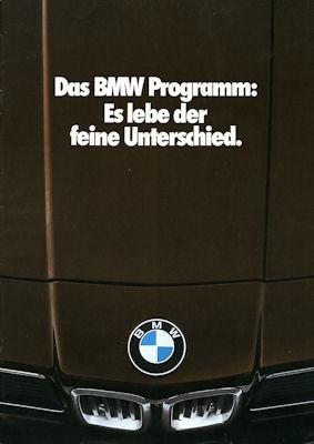 BMW Programm 1979