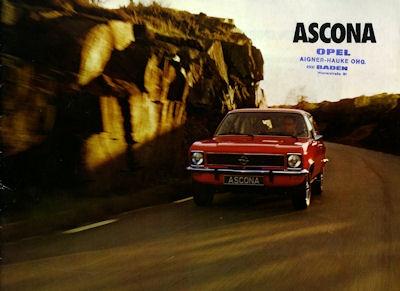 Opel Ascona Prospekt 1974