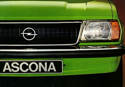 Opel Ascona B Prospekt 1977
