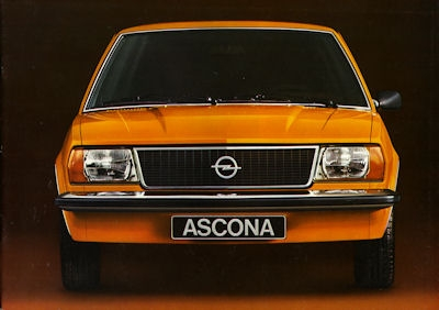 Opel Ascona B Prospekt 1976