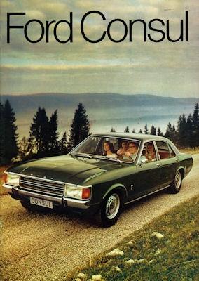 Ford Consul Prospekt 1972