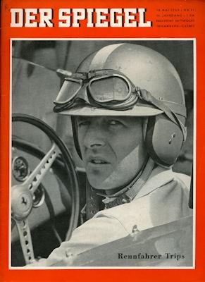 Der Spiegel Heft 21 18.5.1960 Rennfahrer Trips